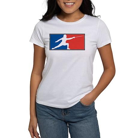fencing7Black T-Shirt