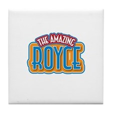 The Amazing Royce Tile Coaster