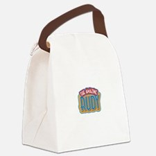 The Amazing Rudy Canvas Lunch Bag