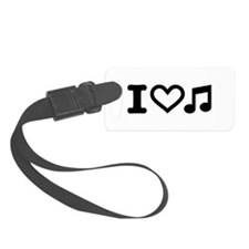 I love music note Luggage Tag