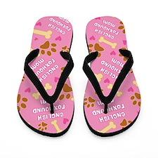 English Foxhound Mom Gift Flip Flops