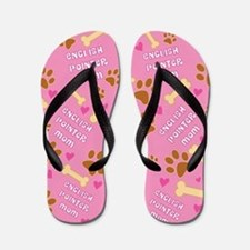 English Pointer Mom Gift Flip Flops