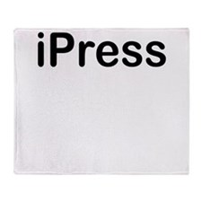 ipress Throw Blanket