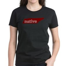 Red Native Tee