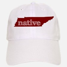 Red Native Baseball Baseball Cap