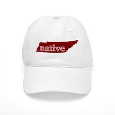 Red Native Baseball Cap