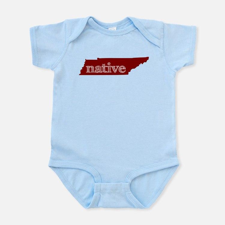 Red Native Infant Bodysuit