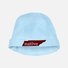 Red Native baby hat