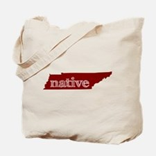 Red Native Tote Bag