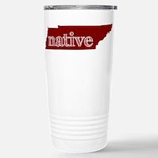 Red Native Travel Mug