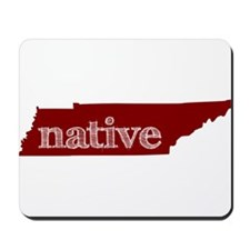 Red Native Mousepad