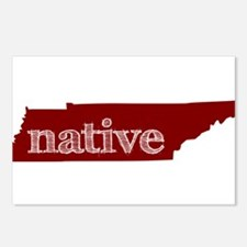 Red Native Postcards (Package of 8)