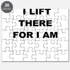 I LIFT THERE FOR I AM Puzzle