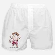 Funky Monkey Love Boxer Shorts
