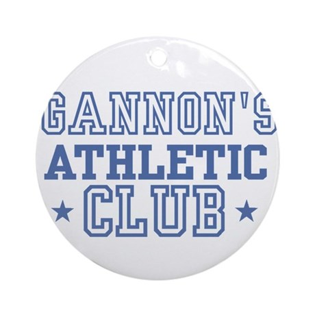Gannon Ornament (Round)
