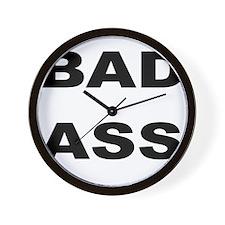 BAD ASS Wall Clock