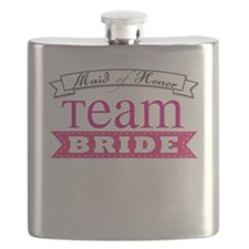 Team Bride Maid of Honor Flask