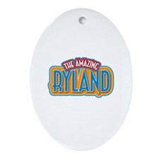 The Amazing Ryland Ornament (Oval)
