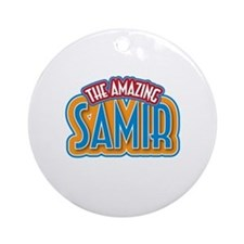 The Amazing Samir Ornament (Round)