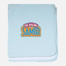 The Amazing Samir baby blanket
