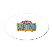 The Amazing Santino Oval Car Magnet