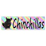 Chinchillas Sticker (Bumper)