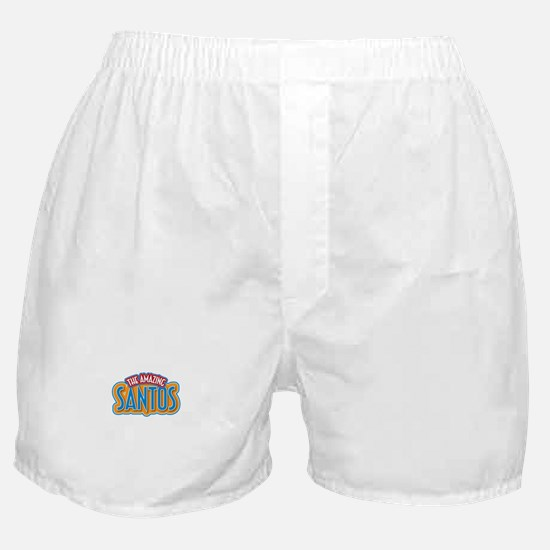 The Amazing Santos Boxer Shorts