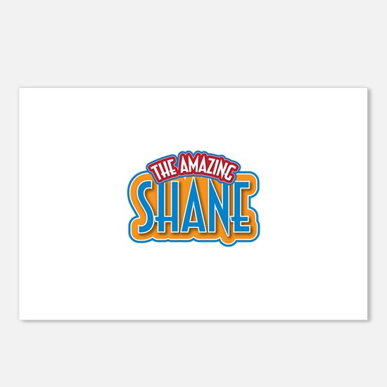 The Amazing Shane Postcards (Package of 8)