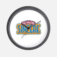 The Amazing Sincere Wall Clock