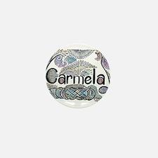 Carmela Mini Button