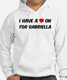 Heart on for Gabriella Hoodie