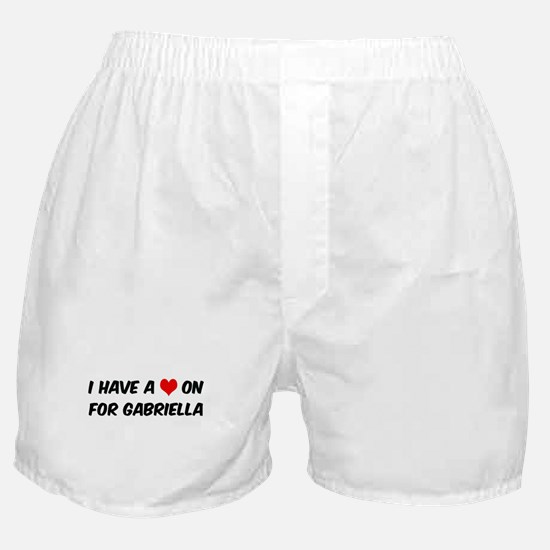 Heart on for Gabriella Boxer Shorts