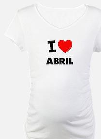 I love Abril Shirt