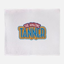 The Amazing Tanner Throw Blanket