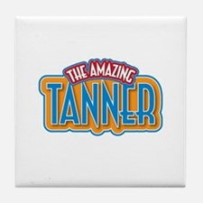 The Amazing Tanner Tile Coaster