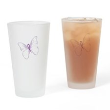 fly away lupus Drinking Glass