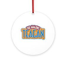 The Amazing Teagan Ornament (Round)