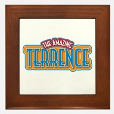 The Amazing Terrence Framed Tile