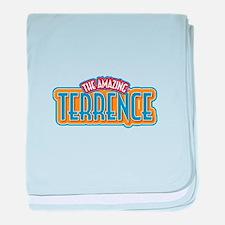 The Amazing Terrence baby blanket