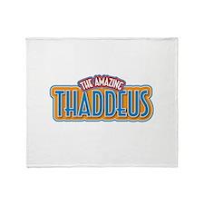 The Amazing Thaddeus Throw Blanket