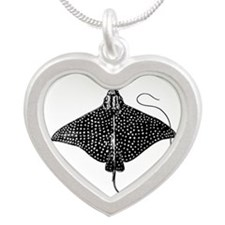 Spotted Eagle Ray Logo Necklaces