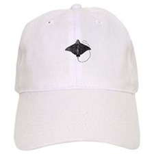 Spotted Eagle Ray Logo Baseball Baseball Cap