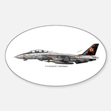 VF-11 Red Rippers Oval Decal