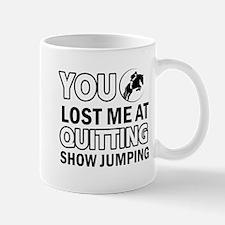 Hardcore Show Jumping designs Mug