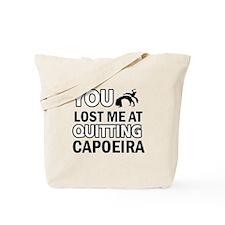 Hardcore Capoeira designs Tote Bag