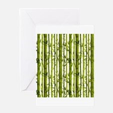 Bamboo Lessons Greeting Card