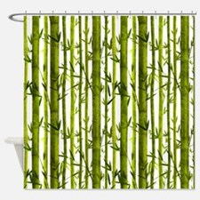 Bamboo Lessons Shower Curtain