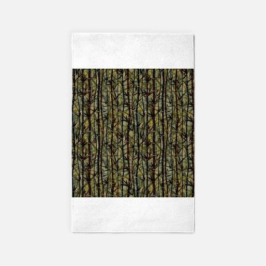 Bamboo Shades 3x5 Area Rug