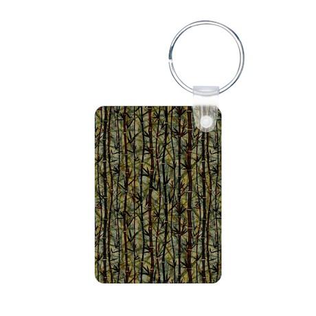 Bamboo Shades Aluminum Photo Keychain