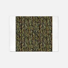 Bamboo Shades 5x7Area Rug